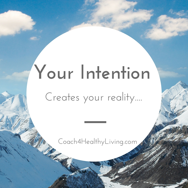 Setting a New Year's Intention