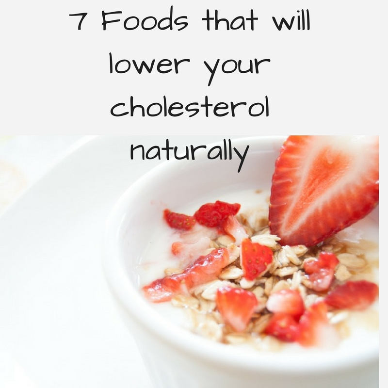 Lower your cholesterol naturally