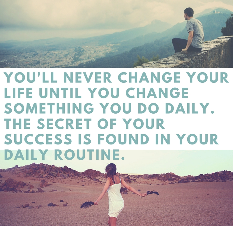 Create your daily success habits!